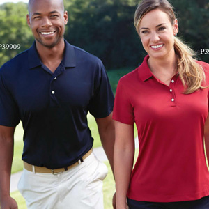 Solid Jersey Polos