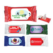 Anti bacterial Wet Wipe Packet