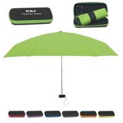Folding Travel Umbrellas With Case
