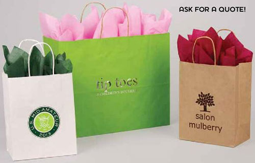Custom Printed Specialty Food Shopping Bags