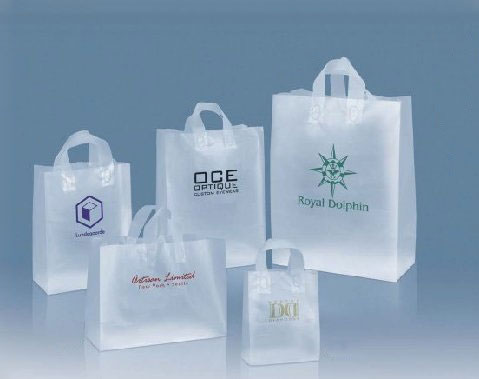 Clear Plastic Shopping Bags With Handles | Bags More