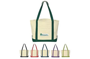 Cotton Canvas Boat Totes